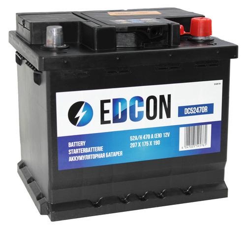 Аккумулятор Edcon DC52470R (52 А/ч)