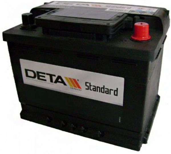 Аккумулятор Deta Standart DC652 65 А/ч