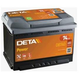 Аккумулятор Deta Power DB740 74 А/ч