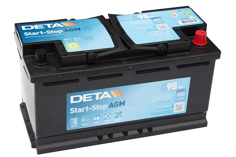 Аккумулятор Deta Stop-Start AGM DK950 95 А/ч