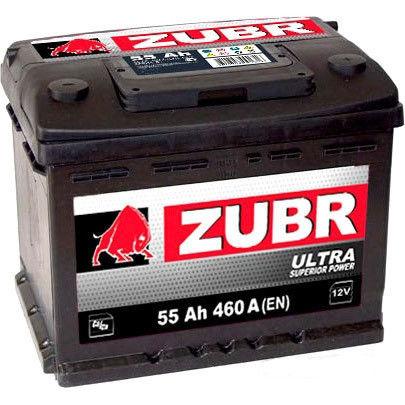 Аккумулятор Зубр Ultra R+ (55Ah)