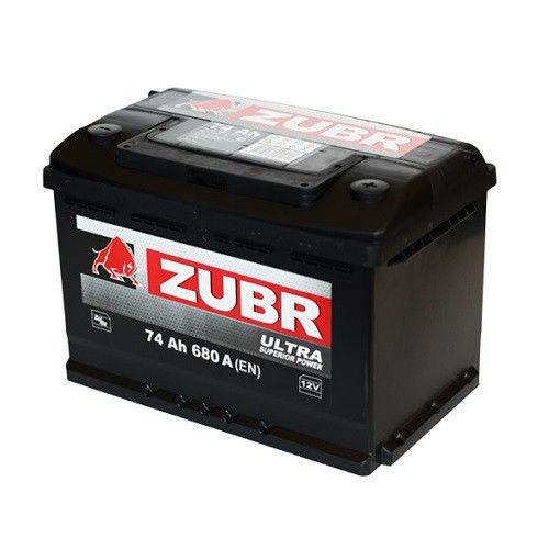 Аккумулятор Зубр Ultra R+ (74Ah)