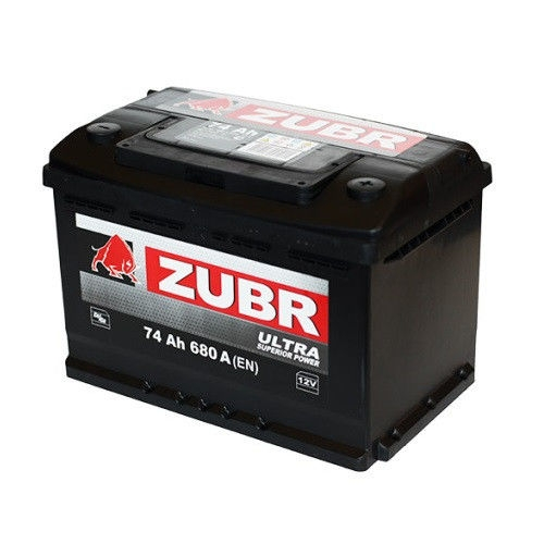 Аккумулятор Зубр Ultra L+ (74Ah)