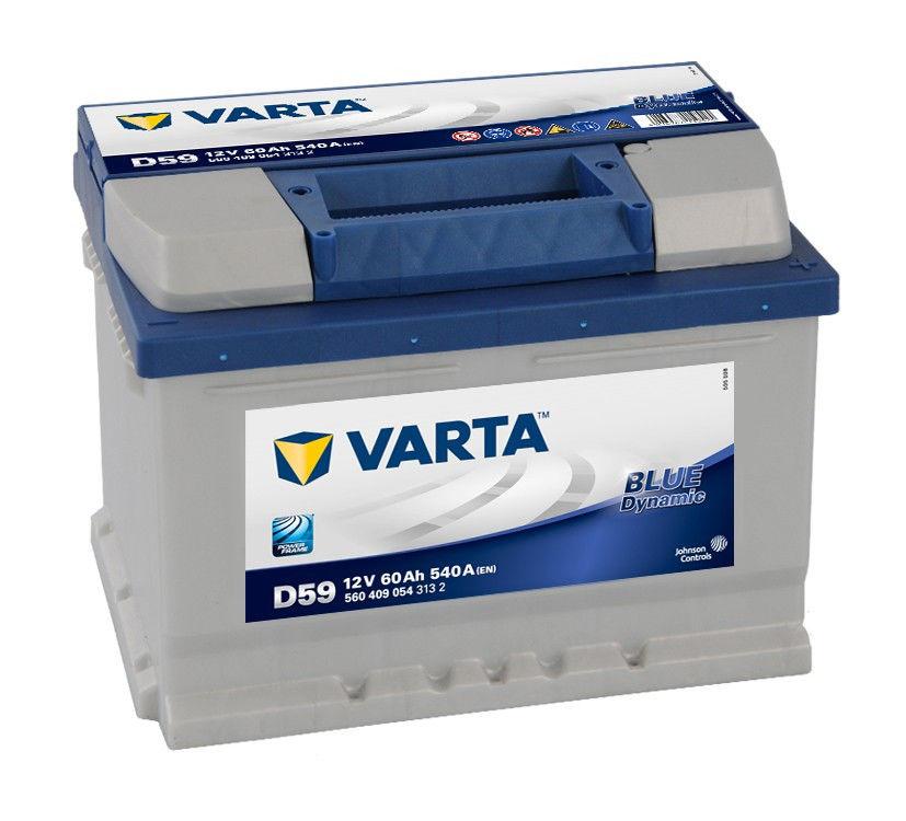 Аккумулятор Varta Blue Dynamic D59 ( 60 А/ч)
