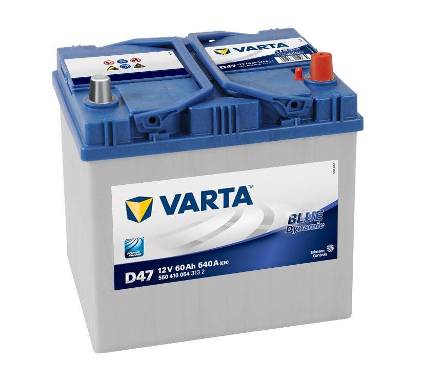 Аккумулятор Varta Blue Dynamic D47 (60 А/ч)