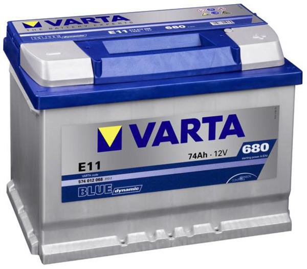 Аккумулятор Varta Blue Dynamic E11 (74 А/ч)