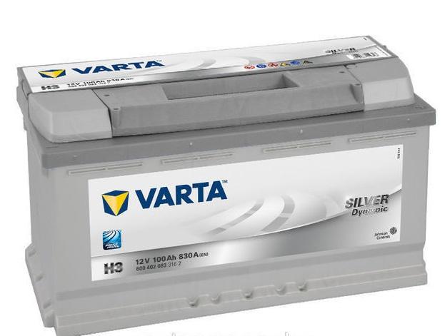 Аккумулятор Varta Silver Dynamic H3 (100 А/ч)