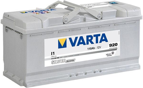 Аккумулятор Varta Silver Dynamic I1 110 А/ч