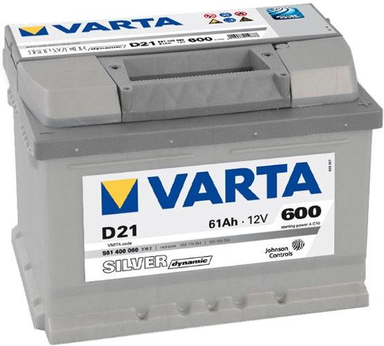 Аккумулятор Varta Silver Dynamic D21 (61 А/ч)