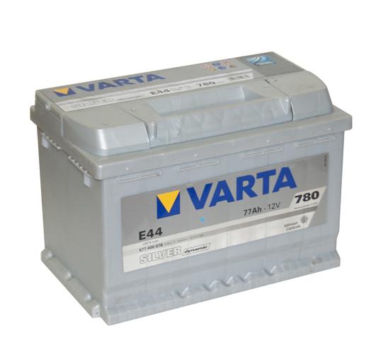 Аккумулятор Varta Silver Dynamic E44 (77 А/ч)