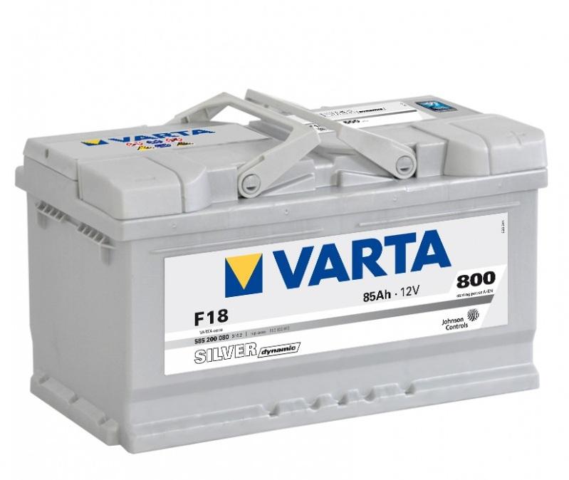 Аккумулятор Varta Silver Dynamic F18 (85 А/ч)