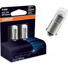 Лампа светодиодная Osram BA9s LEDriving Cool White 2шт [3850CW-02B]