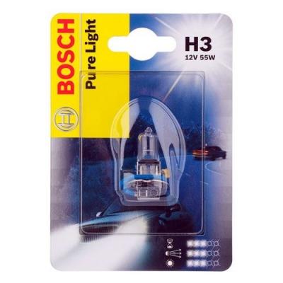 Лампа галогенная Bosch H3 Pure Light 1шт