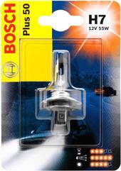 Лампа галогенная Bosch H7 Plus 50 1 шт
