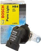 Лампа галогенная Bosch HB4 Pure Light 1 шт