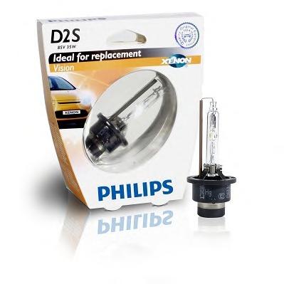 Лампа ксеноновая Philips D2S Xenon Vision 1 шт
