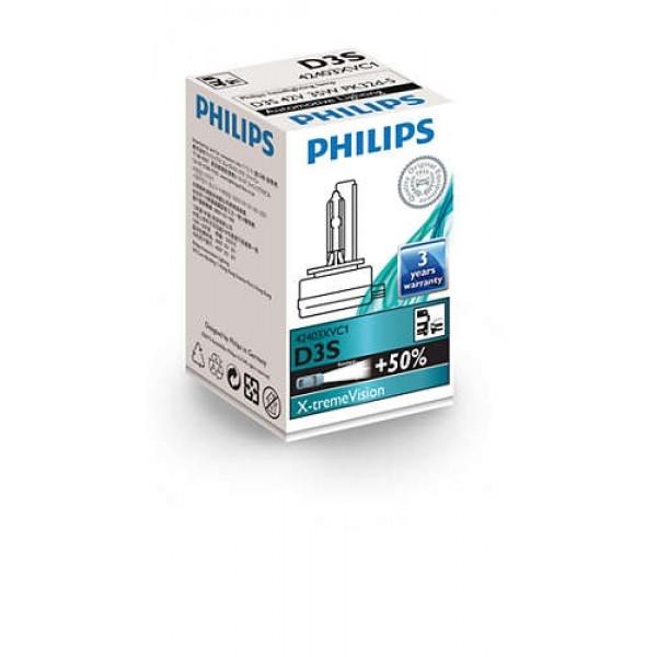 Лампа ксеноновая Philips D3S Xenon X-tremeVision 1 шт