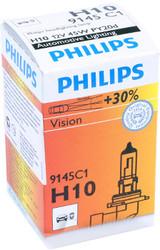 Лампа галогенная Philips H10 Vision +30% 1 шт