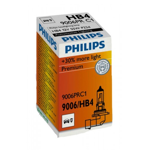 Лампа галогенная Philips HB4 Vision 1 шт