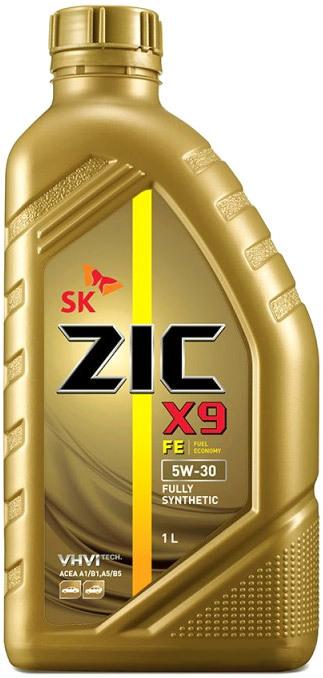 Моторное масло ZIC X9 FE 5W-30 1л