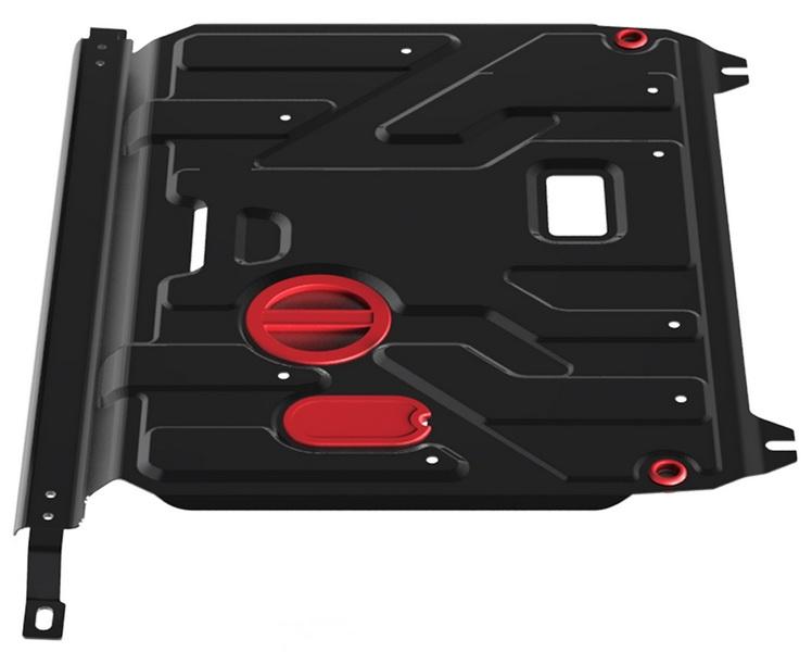 Защита двигателя и КПП АвтоБРОНЯ Hyundai Solaris 2011-