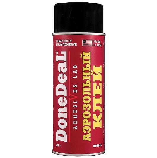 DONE DEAL Клей аэрозольный (адгезив) 340 гр