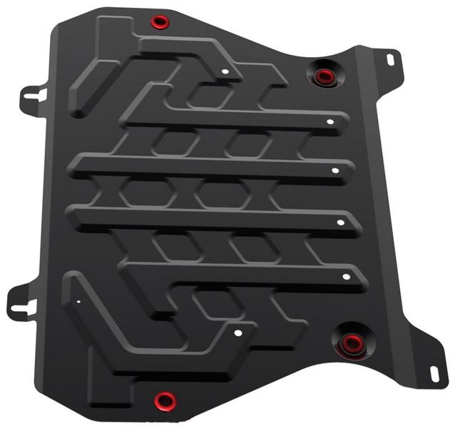 Защита двигателя и КПП АвтоБРОНЯ Nissan Juke 2011-