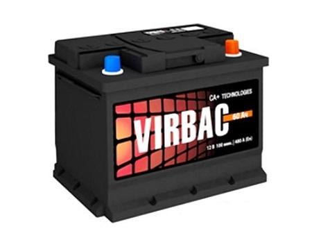 Аккумулятор Virbac Classic (55 А/ч)