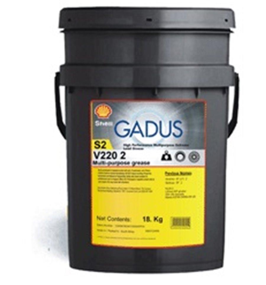 Смазка SHELL GADUS S2 V220 2 18 кг