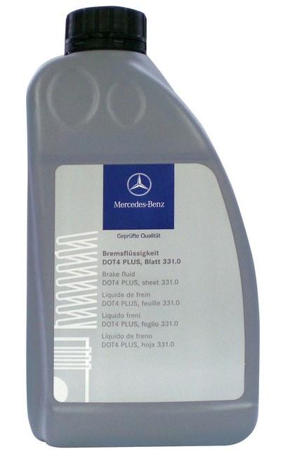 Жидкость тормозная Mercedes-Benz DOT-4 plus, MB 331.0 1л