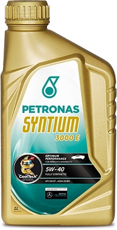Моторное масло Petronas Syntium 3000 E 5W-40 1л