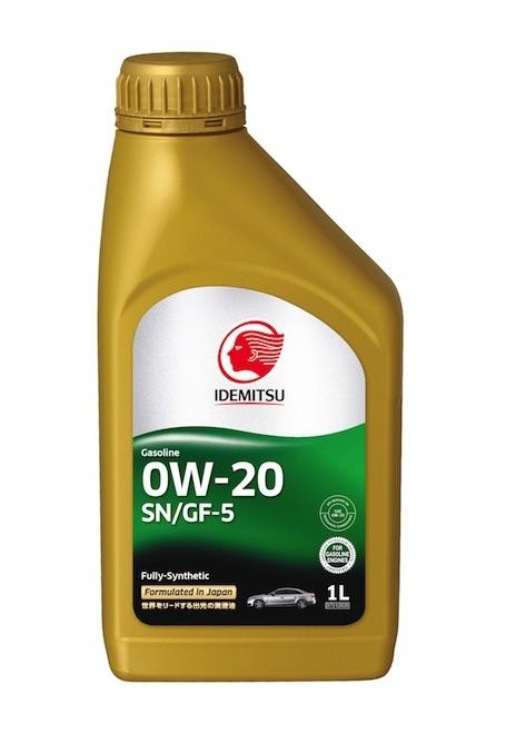 Моторное масло Idemitsu Fully-Synthetic SN/GF-5 0W-20 1л