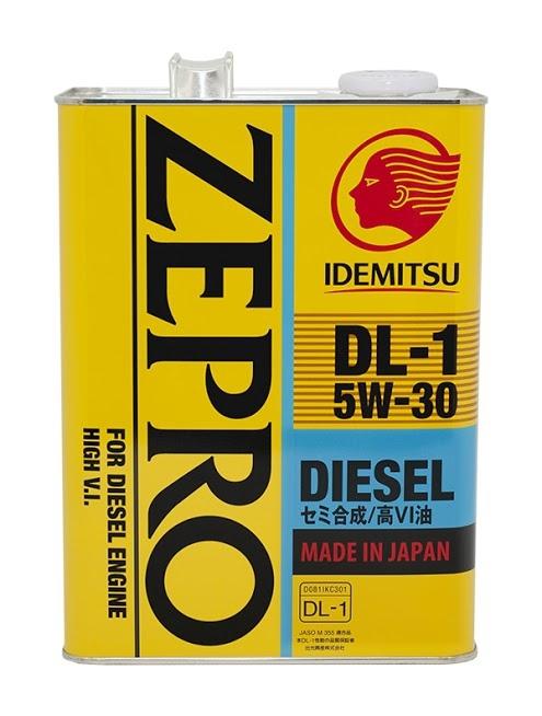 Моторное масло Idemitsu Zepro Diesel DL 5W-30 4л