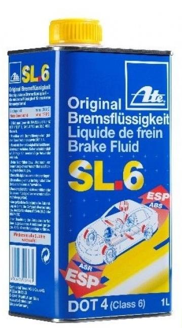 Жидкость тормозная ATE Original SL.6 DOT4 1л