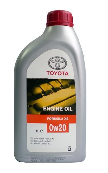 Моторное масло Toyota SN 0W-20 1л