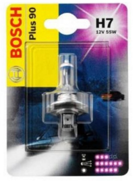 Лампа галогенная Bosch H7 Longlife Daytime 1 шт