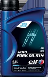 Вилочное масло ELF MOTO FORK OIL SYN 5W 0.5л