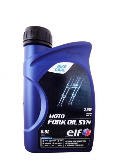 Вилочное масло ELF MOTO FORK OIL SYN 2.5W 0.5л