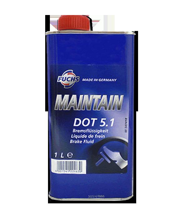 Жидкость тормозная Fuchs Maintain DOT 5.1 1л
