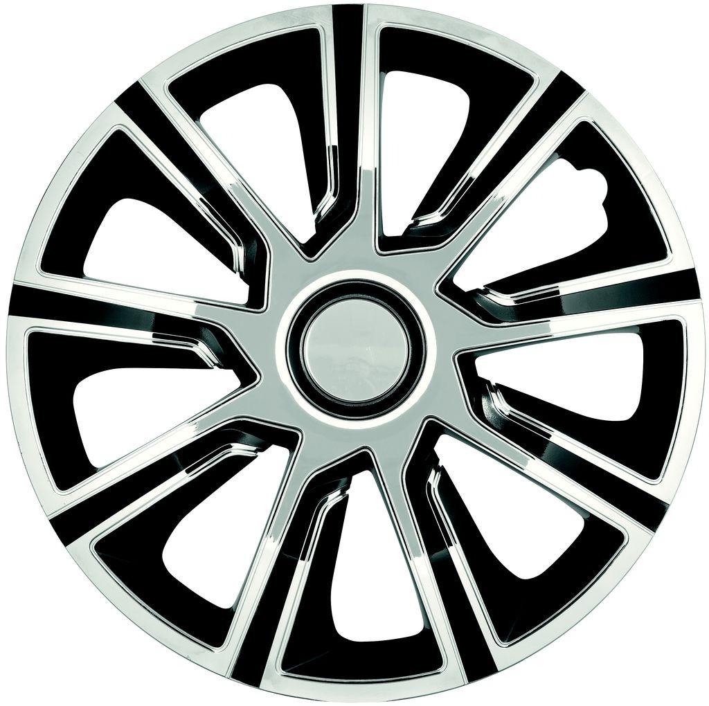 Колпаки колесные Argo Veron Chrome Black 15