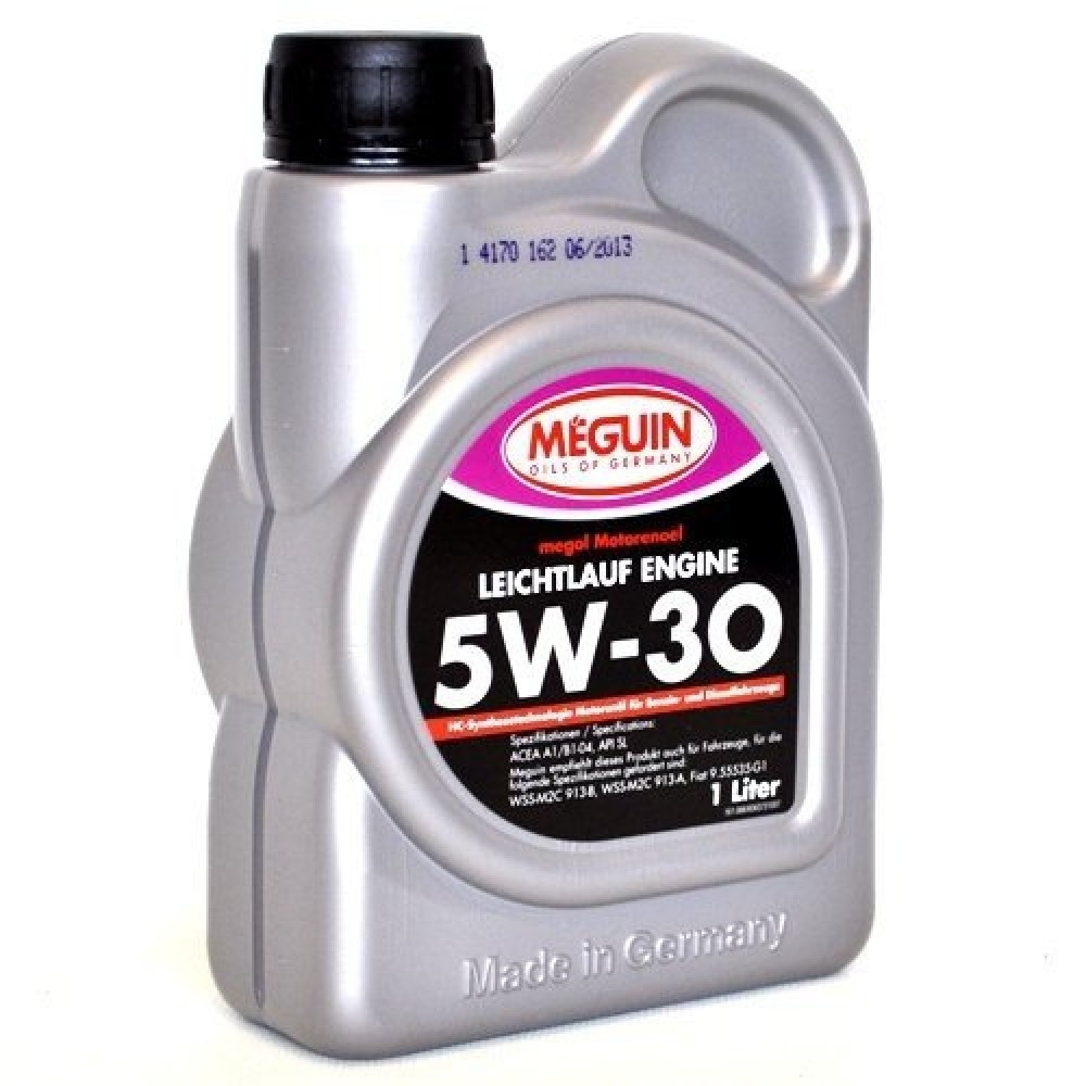 Моторное масло Meguin Megol Leichtlauf Engine 5W-30 1л