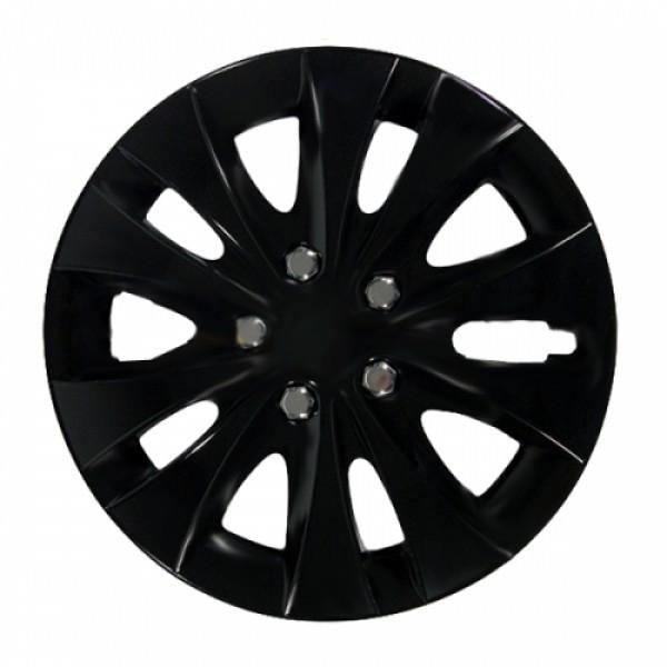 Колпаки колесные Jestic  Storm Black Chrome ring 15