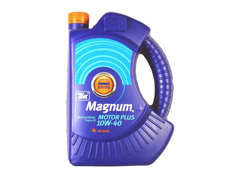 Моторное масло Magnum Motor Plus 10W-40 4л
