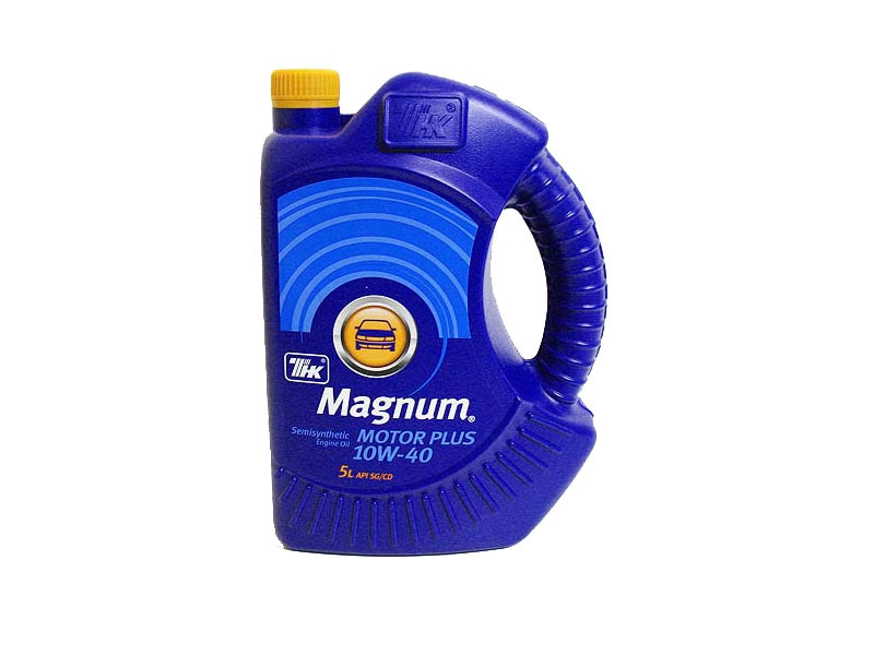Моторное масло ТНК Magnum Motor Plus 10W-40 5л