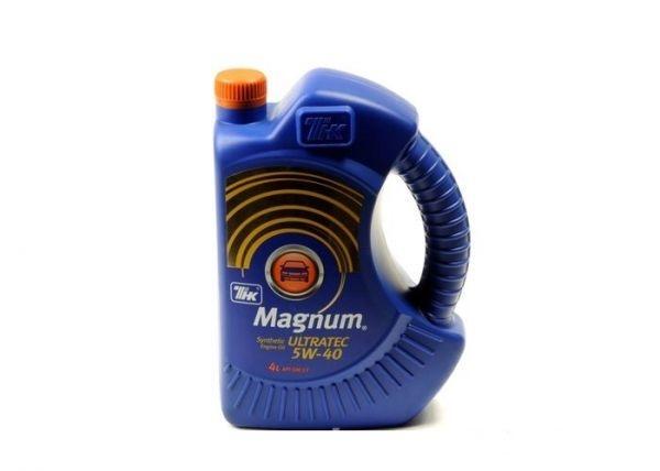 Моторное масло Magnum Ultratec 5W-40 4л