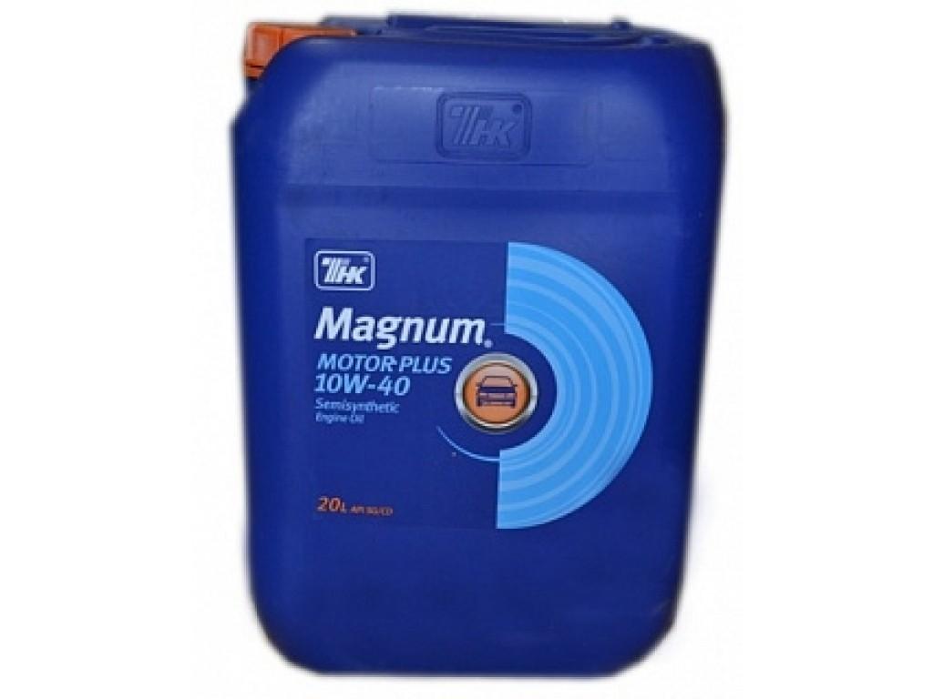 Моторное масло Magnum Motor Plus 10W-40 20л