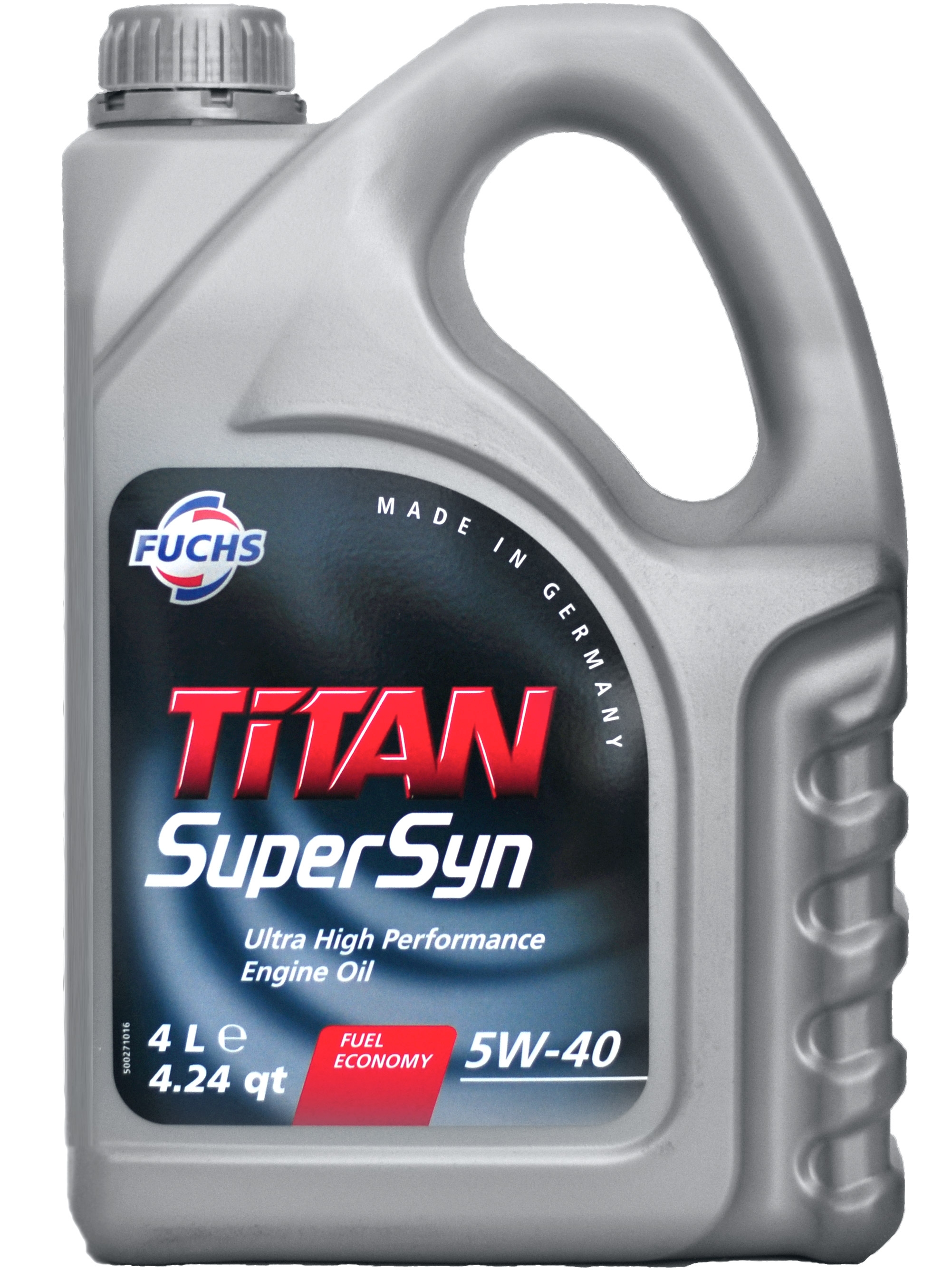 Моторное масло Fuchs Titan Supersyn 5W-40 4л
