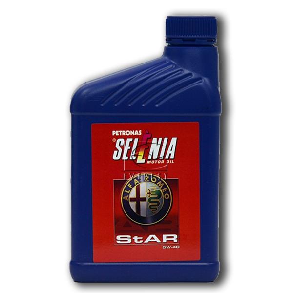 Моторное масло SELENIA Star Pure Energy 5W-40 1л