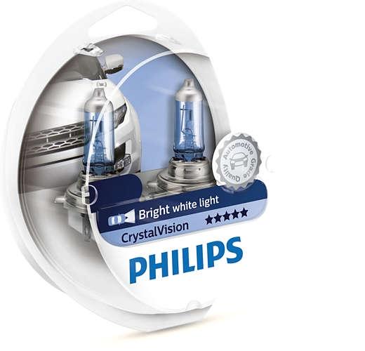 Лампа галогенная Philips H11 Crystal Vision 2шт