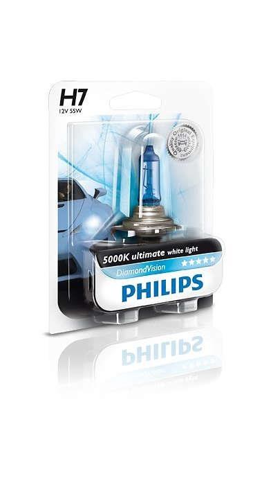 Лампа галогенная Philips H7 Diamond Vision 1шт